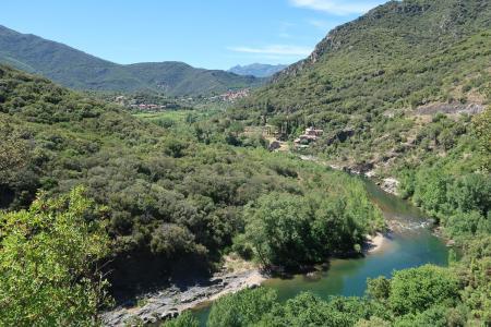 Orb-Tal: Von Roquebrun nach Vieussan