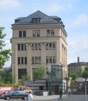 Architektur, Chemnitz, Kunstgewerbehaus