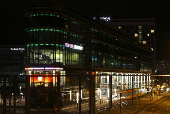 Altstadt, Architektur, Dresden, Nacht