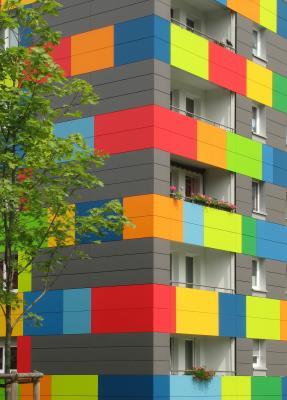 Altstadt, Architektur, Dresden, farbig, grafisch, Kalender 2008, Lesezeichen, verwendet in