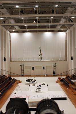 Architektur, Bühnenbild Helmut Oehring - Quixote, Dresden, Festspielhaus, Hellerau, Theater