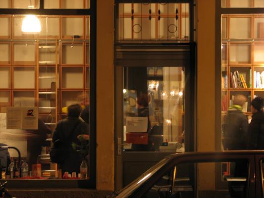 Architektur, Architekturbuchhandlung Weisslack, Dresden, grafisch, Neustadt