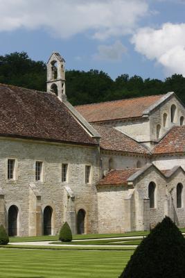 Abbe de Fontenay, Abtei, Burgund, Frankreich
