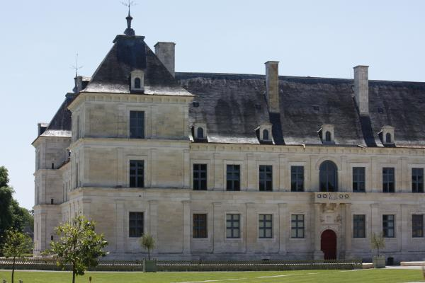 Ancy le Franc, Burgund, Canal Bourgogne, Frankreich