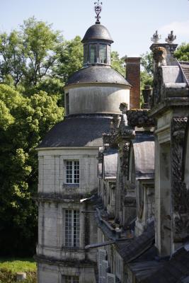 Burgund, Frankreich, Tanlay, Yvonne