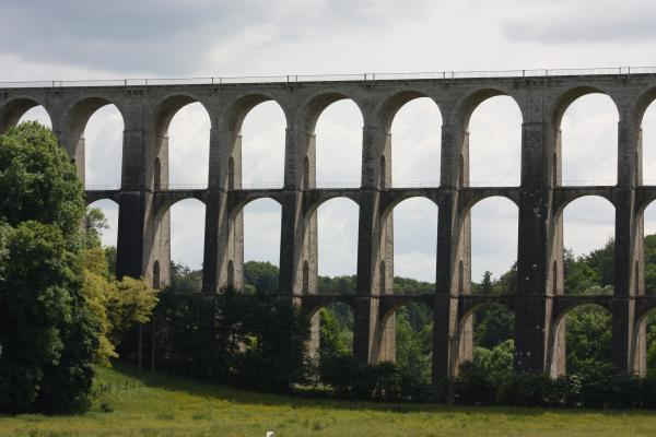 Brücke, Champagne, Chaumont, Eisenbahn, Frankreich