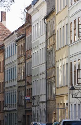 Altstadt, Architektur, Görlitz, Oberlausitz, Schlesien, Verfalllen
