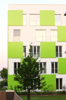 farbig, grün, Hamburg, IBA