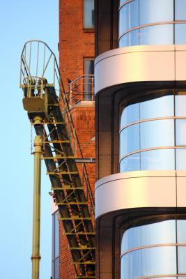Abendsonne, Hafen, Hamburg, IBA, Lindschulte + Partner GmbH