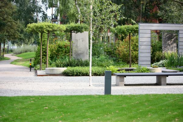 Garten, Schweden, Smaland, Växjö