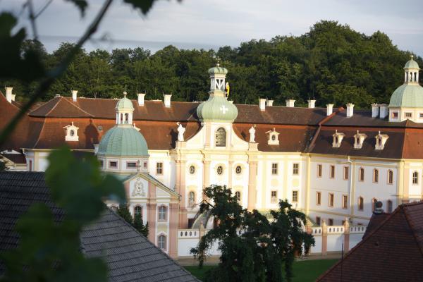 Architektur, Barock, Kloster, Kloster St. Marienthal, Ostritz, Zittau