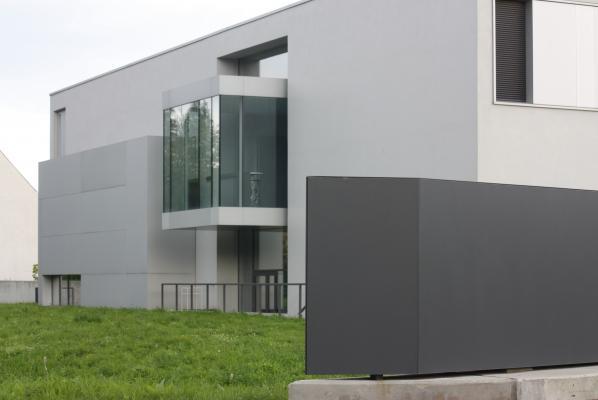 Architektur, weiß, Zittau