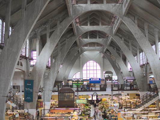 Architektur, Breslau Wroclaw, Markthalle, Richard Plüddermann Friedrich Friese Heinrich Küster, 1906-1908, Moderne, Polen