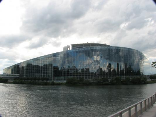 Urlaub, Strasbourg, Architektur, Frankreich