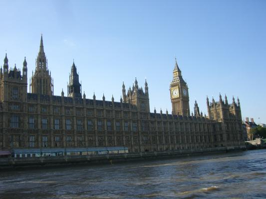Manos, England, London, Themse, Parliament