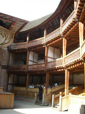 England, London, Manos, Globe Theatre