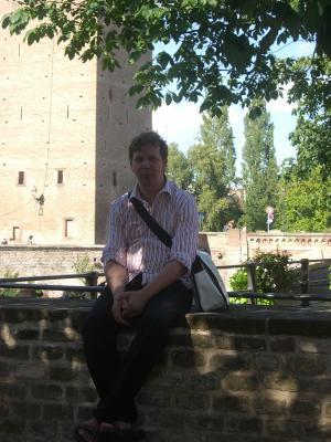 Jens, Strasbourg, Urlaub