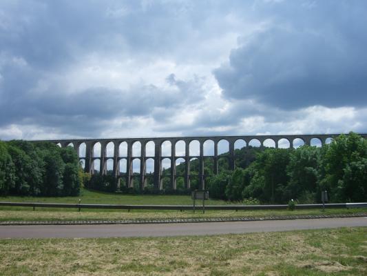 Brücke, Champagne-Ardenne, Chaumont, Frankreich