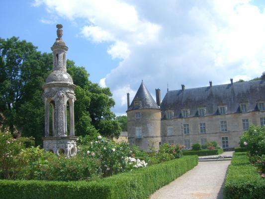 Burgund, Bussy-Raputin, Frankreich, Schloss