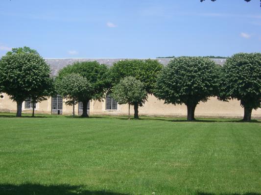 Ancy-le-Franc, Burgund, Frankreich, Schloss