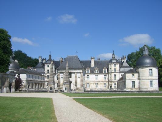 Burgund, Frankreich, Schloss, Tanlay