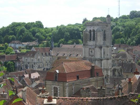 Burgund, Frankreich, Tonnerre, Kirche