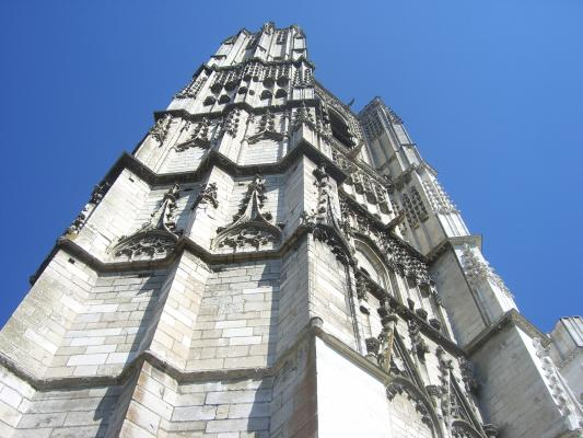 Auxerre, Burgund, Frankreich, Kirche