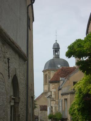 Burgund, Frankreich, Kirche, Vézelay