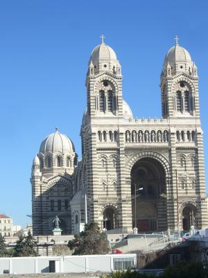 Frankreich, Kathedrale, Marseille, Provence