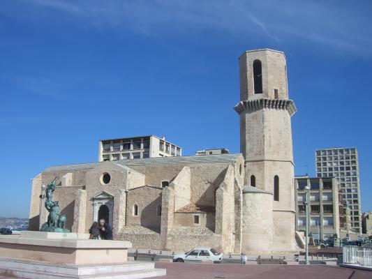 Frankreich, Kirche, Marseille, Provence, Quartier du Panier