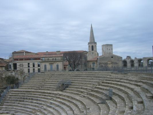 Arles, Frankreich, Provence, Theater