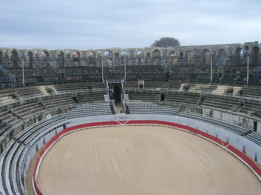 Amphitheater, Arles, Frankreich, Provence