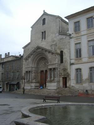 Arles, Frankreich, Kathedrale, Provence