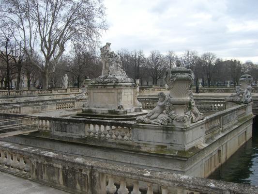 Frankreich, Nimes, Park, Provence
