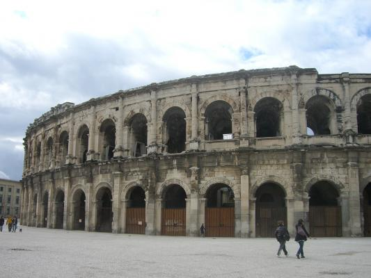 Amphitheater, Frankreich, Nimes, Provence