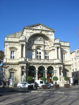 Avignon, Frankreich, Provence, Theater