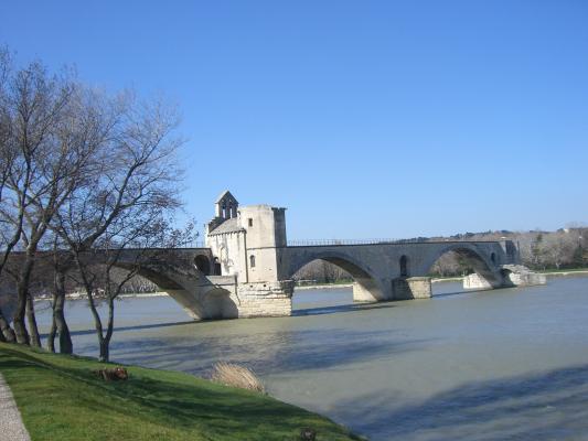 Avignon, Brücke, Frankreich, Provence