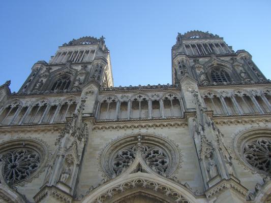 Frankreich, Kathedrale, Loiret, Orléans
