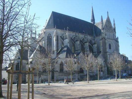 Frankreich, Kirche, Loiret, Orléans