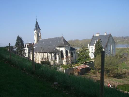 Chaumont-sur-Loire, Frankreich, Kirche, Loir-et-Cher