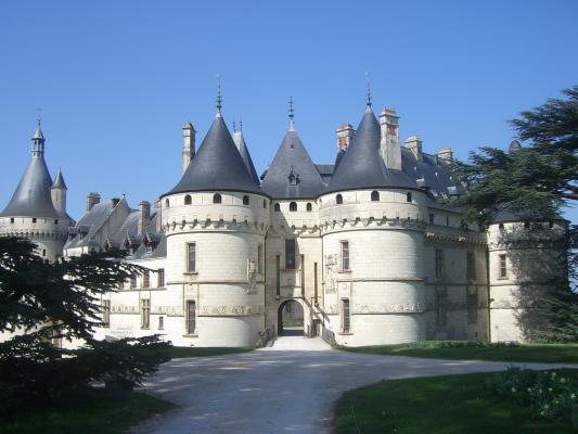 Chaumont-sur-Loire, Frankreich, Loir-et-Cher, Schloss