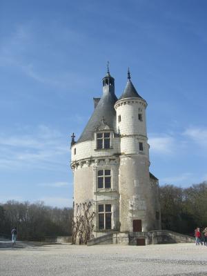 Chenonceaux, Donjon, Frankreich, Indre-et-Loire, Schloss