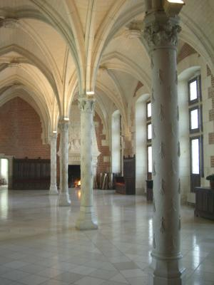 Amboise, Frankreich, Indre-et-Loire, Schloss
