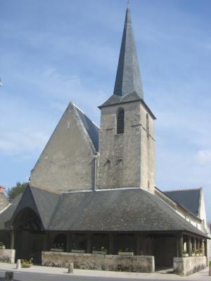 Cheverny, Frankreich, Kirche, Loir-et-Cher