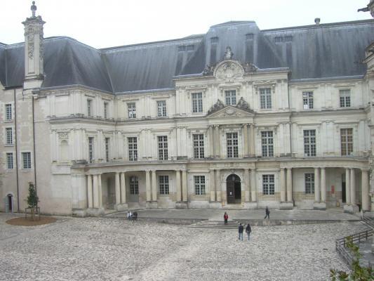 Blois, Frankreich, Loir-et-Cher, Schloss