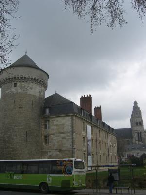 Frankreich, Indre-et-Loire, Schloss, Tours