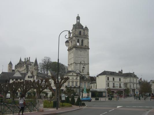 Frankreich, Indre-et-Loire, Loches, Turm