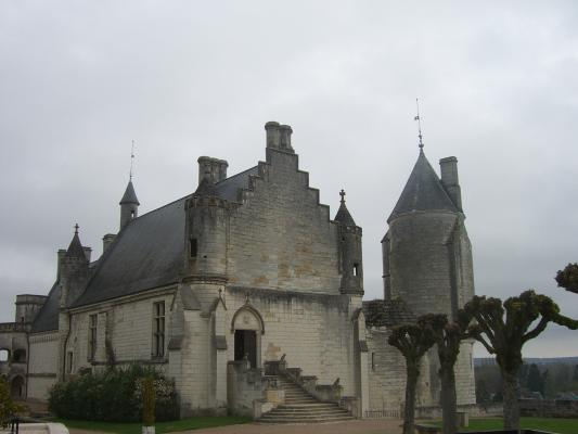 Frankreich, Indre-et-Loire, Loches, Schloss