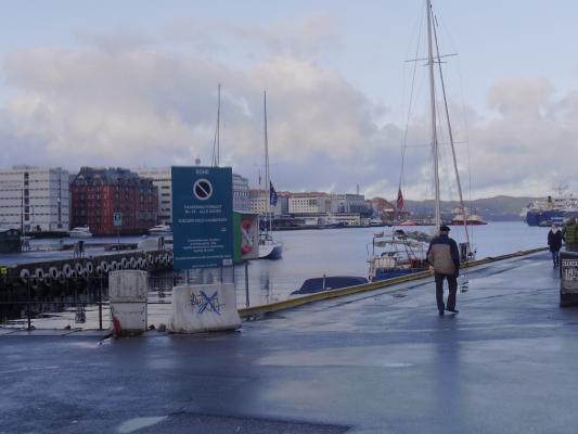 Bergen, Hafen, Norwegen