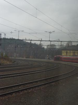 Bahnhof, Norwegen, Oslo-Bergen